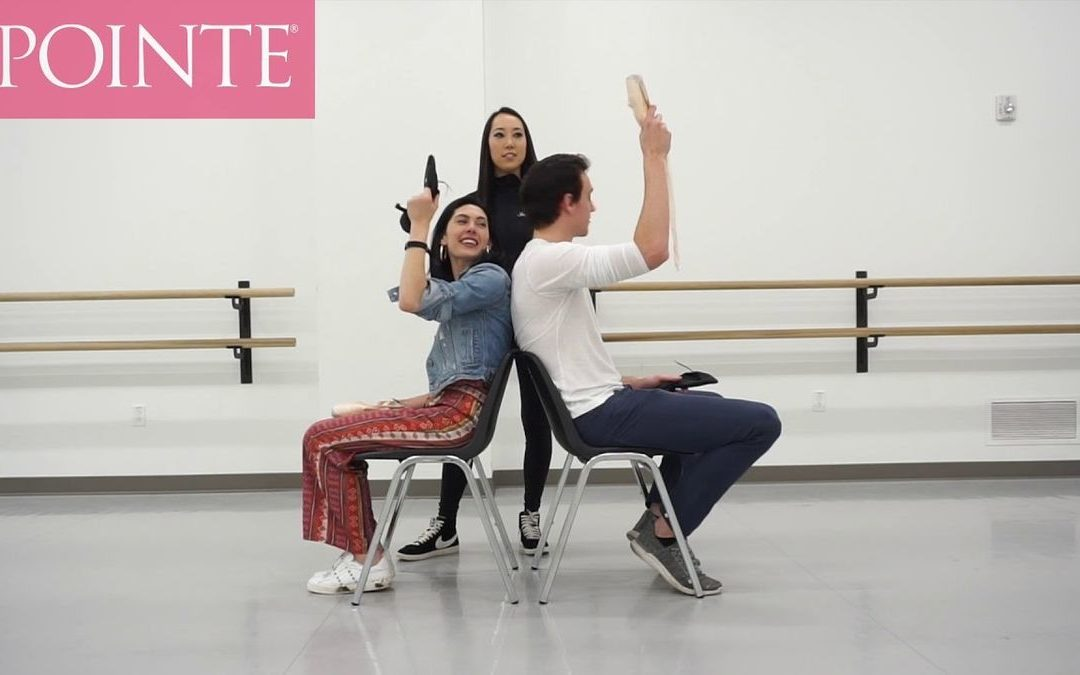 Ballet West Couple Beckanne Sisk and Chase O'Connell Play the Shoe Game… Ballet Style