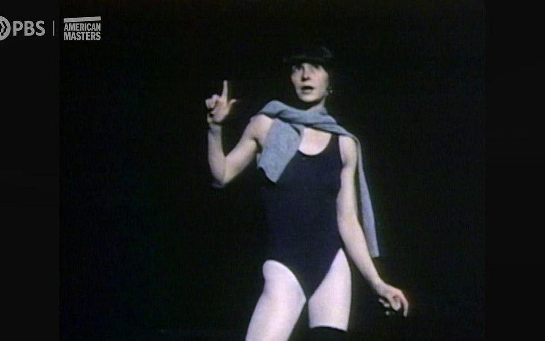 Exclusive Clip of a Young Twyla Tharp…Being Very Twyla