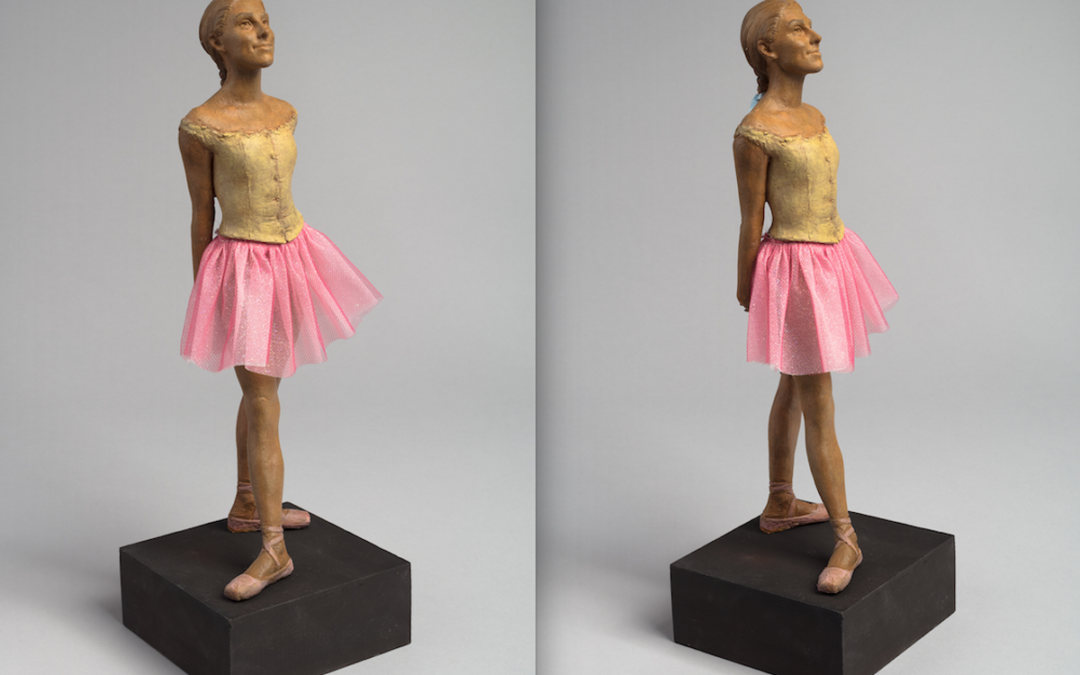 Tiler Peck Has Been Immortalized as a Sculpture—with Proceeds Going Towards Cancer Research