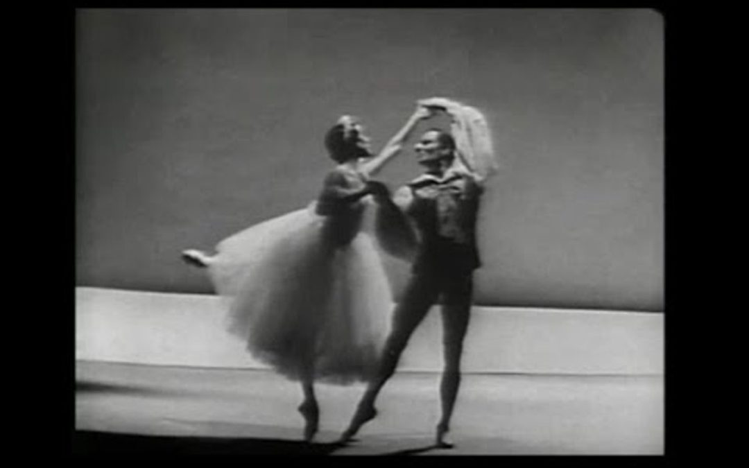 """#TBT: Maria Tallchief and Royes Fernandez in """"Les Sylphides"""" (1963)"""