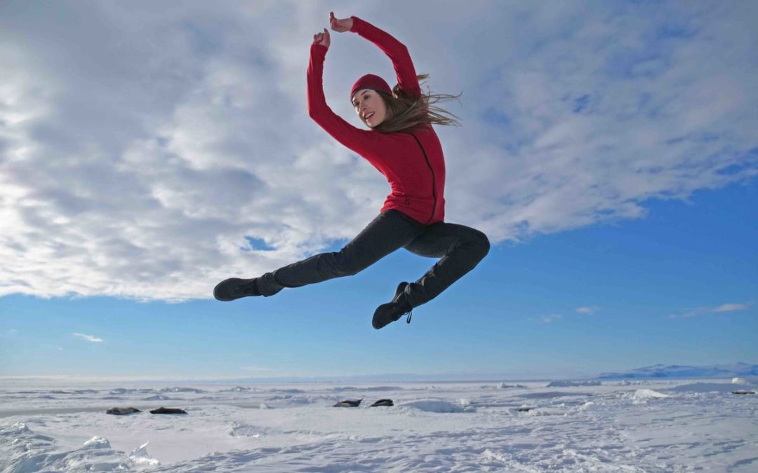 What's It Like to Dance in Antarctica? This Royal New Zealand Ballet Dancer Experienced It Firsthand to Call Attention to Climate Change